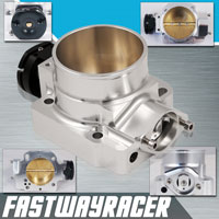 00-03 Honda S2000 Version 2 Silver 70MM Bolt On Aluminum Throttle Body