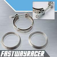 3.0&#39&#39 Stainless Steel V-Band Clamp